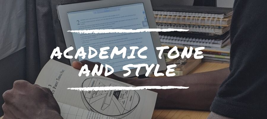 How to Write in an Academic Tone and Style photo